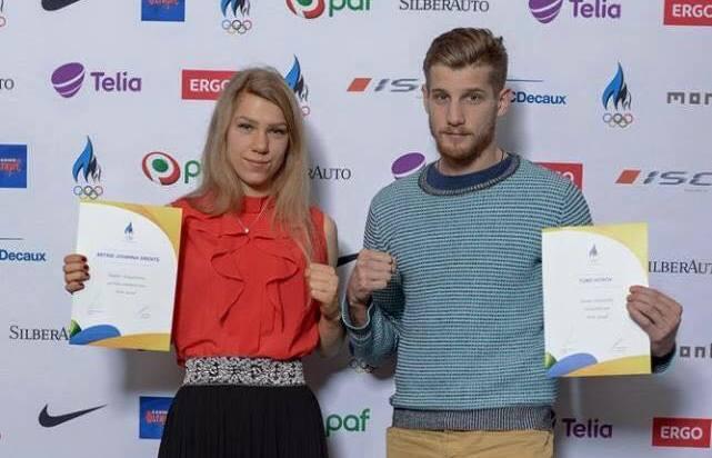PALJU ÕNNE! Eesti Olümpiakomitee tunnustas andekat poksiamatsooni Astrid Johanna Grentsi
