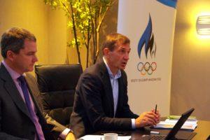 EOK täitevkomitee koosolek, kus võeti vastu otsus premeerida mitteolümpiaalade maailmameistreid ja nende treenereid