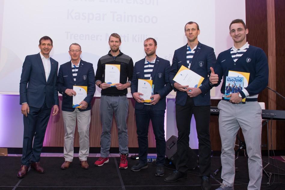 Palju õnne! Eesti Olümpiakomitee tunnustas medalivõitjaid Lisatud fotod