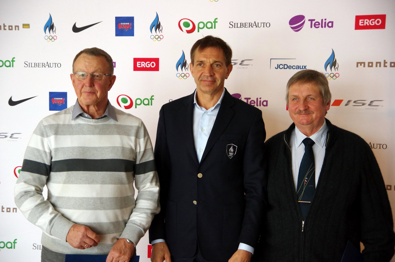 Eesti esimesed eliittreenerid on Matti Killing ja Rein Ottoson