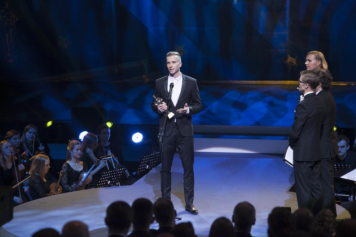 Palju õnne Rasmusele! Aasta Meessportlase 2016 tiitli pälvis Rasmus Mägi