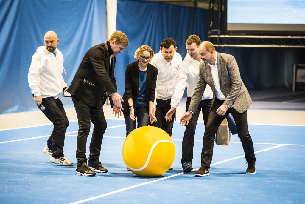 Täna avati Tallinnas Eesti suurim tennisekeskus