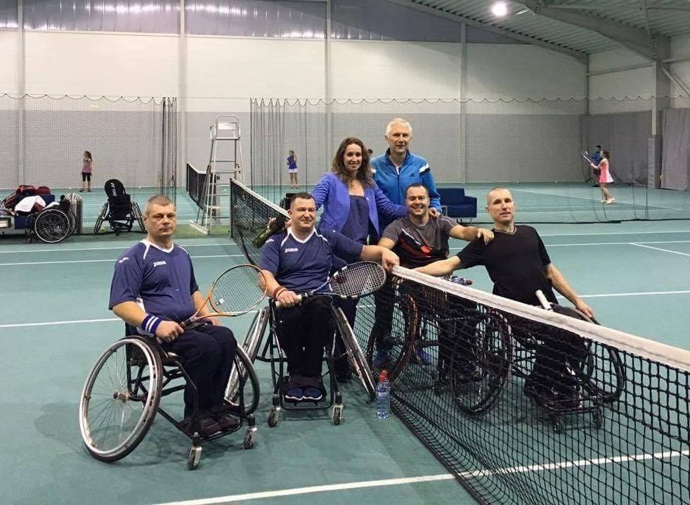 Eestlased võitsid ratastoolitennise Balti karikavõistlused