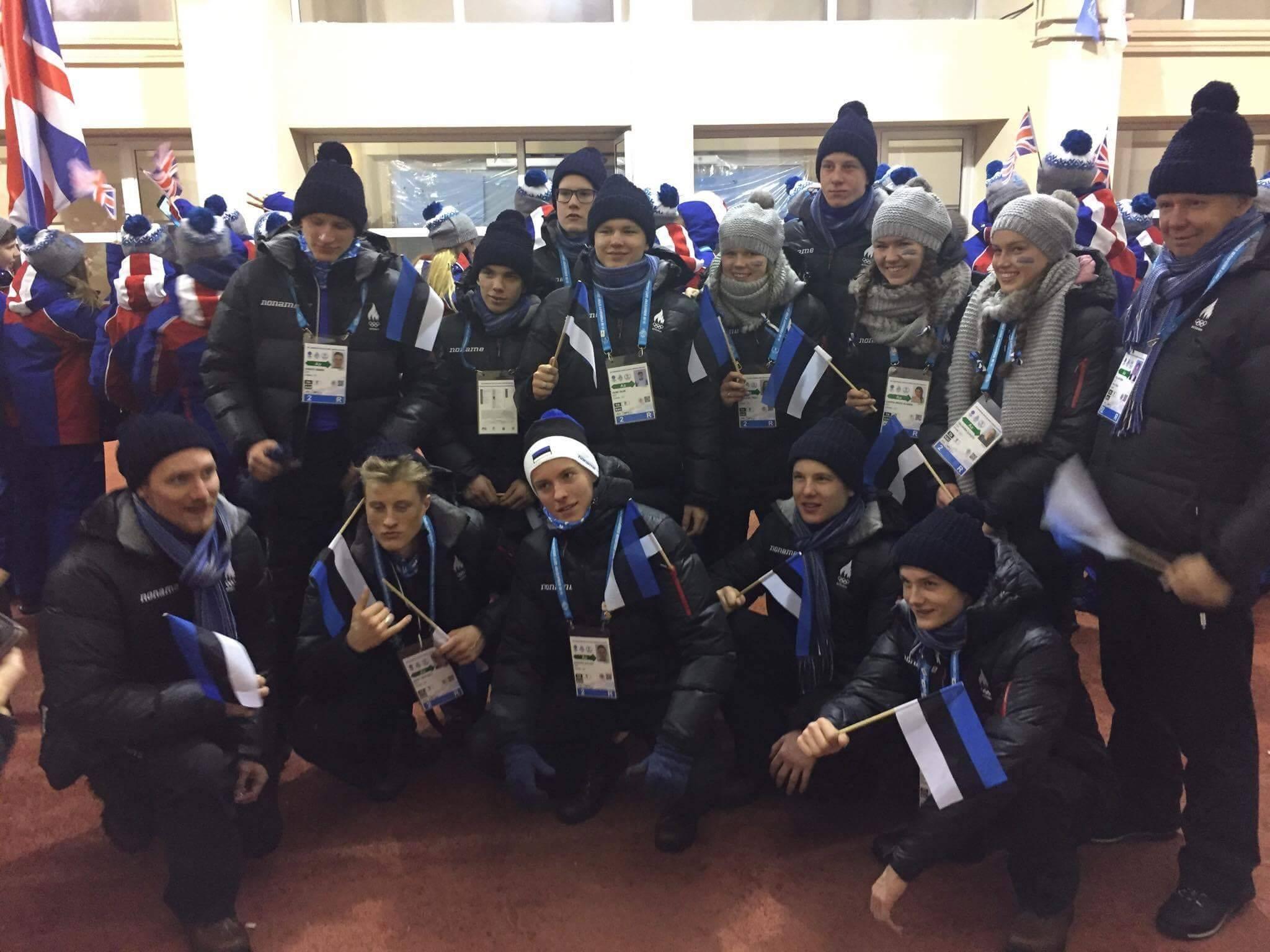 Täna stardib Euroopa Noorte Olümpiafestivalil 9 Eesti sportlast