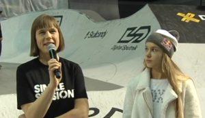 Kersti Kaljulaid ja Kelly Sildaru