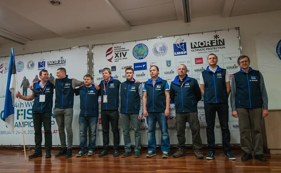 Eesti tuli talipüügi MMil 5. kohale