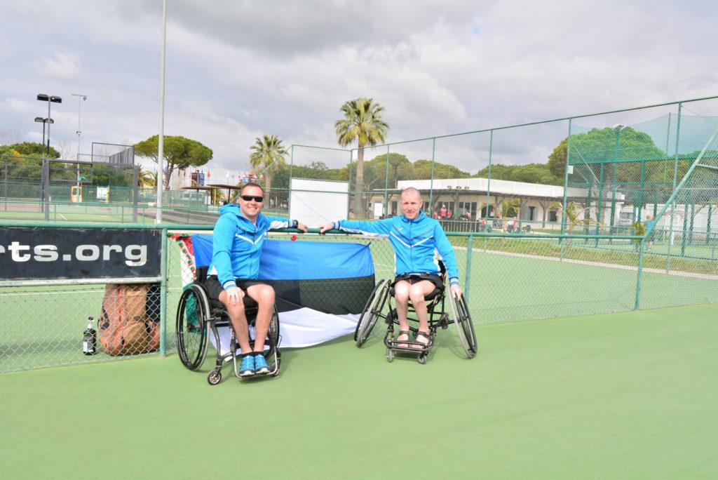 Eesti ratastoolitennisistid alustavad võitlust suurvõistluse pääsme eest2