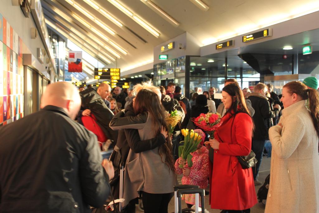 GoodNews toimetus Andra Ahol Tallinna Lennujaamas vastas
