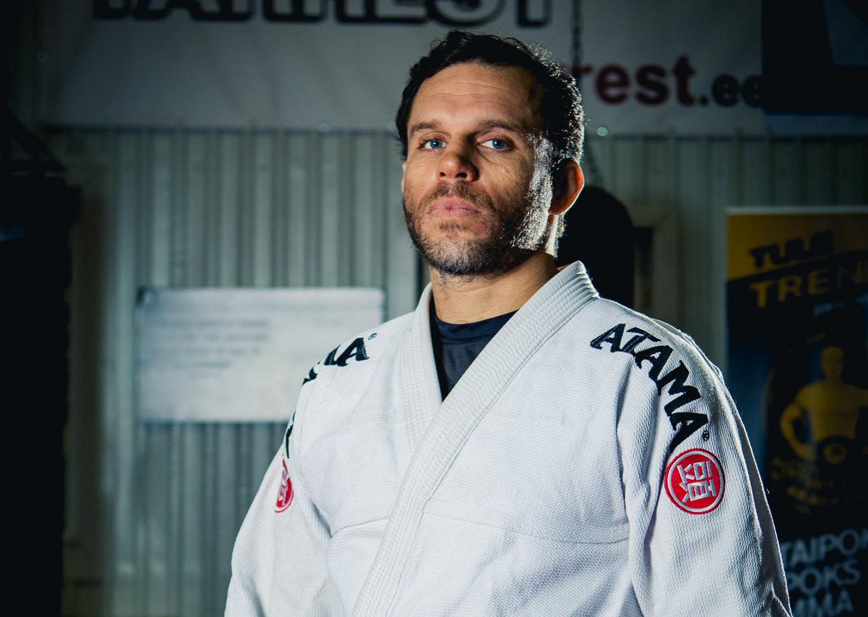Brasiilia treener Eestis! Jiu jitsu treener Sergio de Andrade Cabral: olenemata sellest, kes sa oled, pead sa kõiki kohtlema austusega