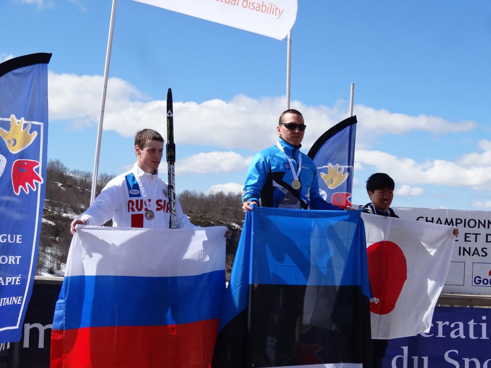 Otepää parasportlane Hans Teearu tuli  taas maailmameistriks