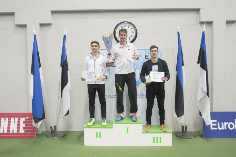 Sulgpalli GP hooaja finaalis võttis võidu Mihkel Laanes