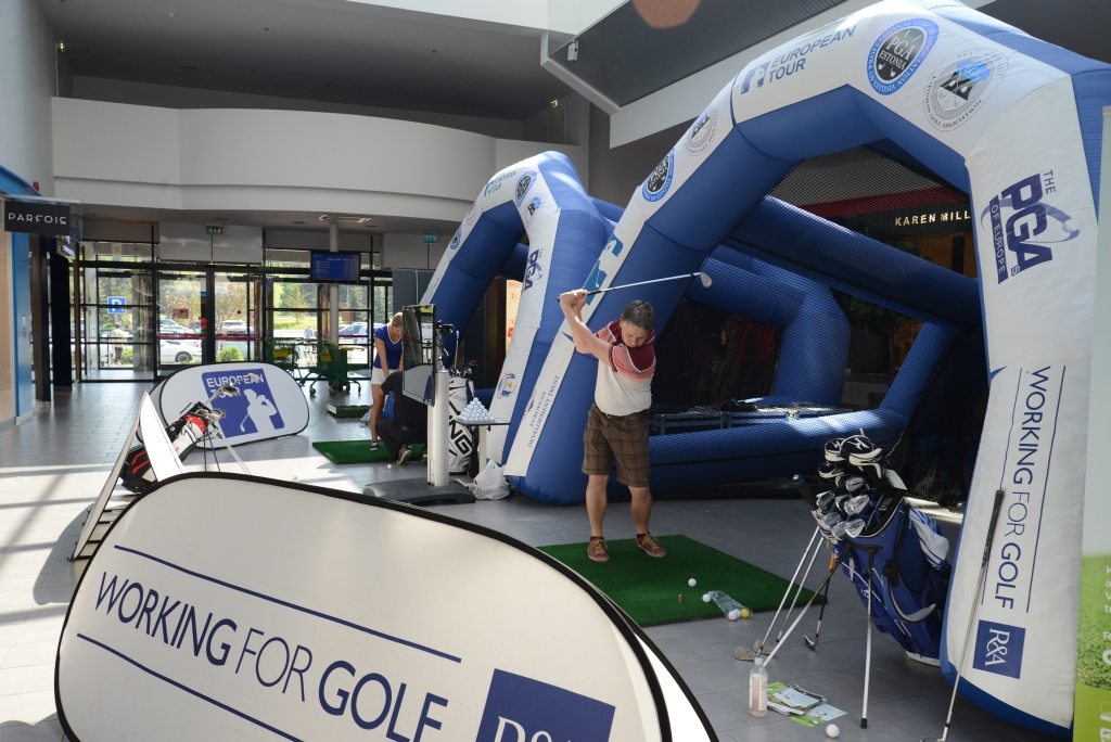 Võimalus tasuta golfi proovida! Rocca al Mare kaubanduskeskus toob golfi rahvale lähemale