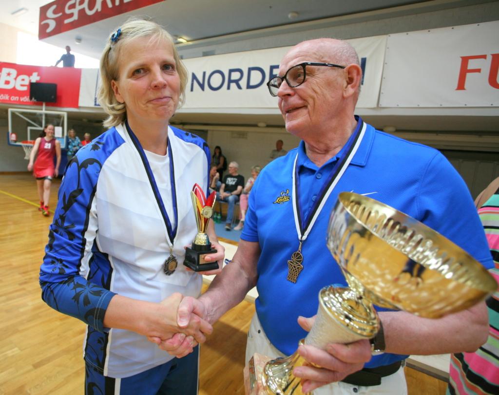 Selma Multeri karika võitja Reet Rausberg