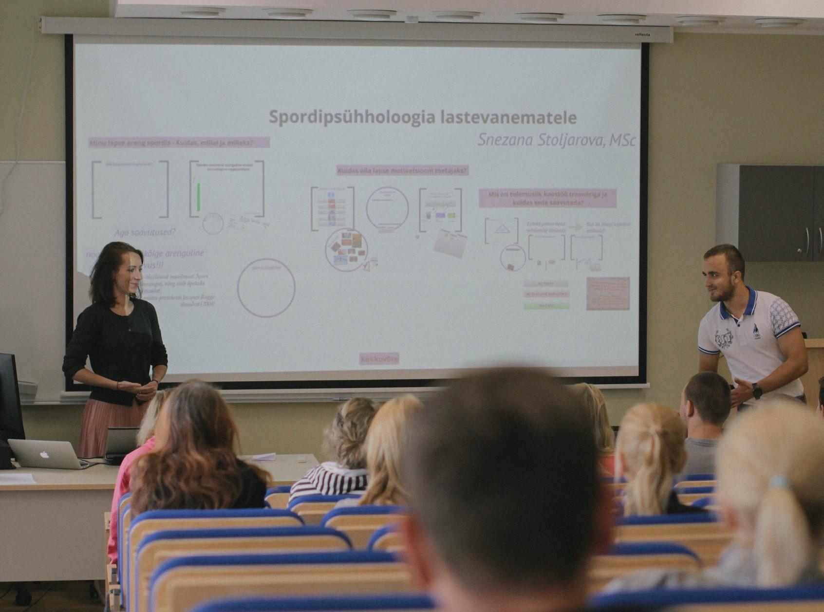 TULEMAS! Snezana Stoljarova spordipsühholoogia seminar õpetab pingetega toime tulema