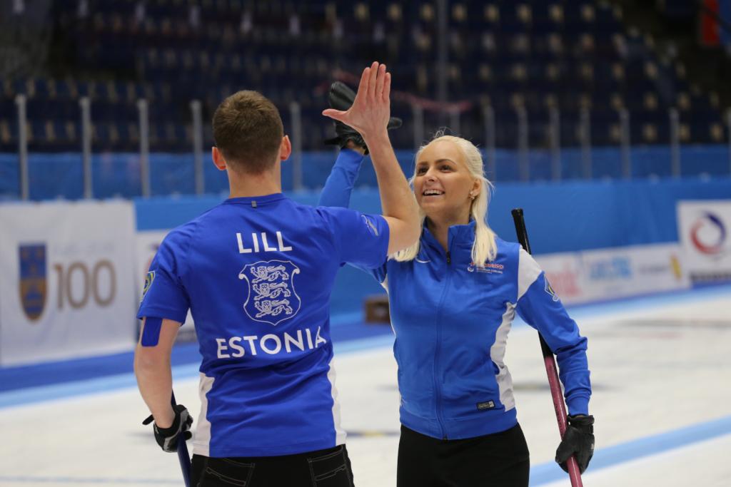 Eesti curlingupaar on hooaja lõppedes edetabelis kõrgel 11. kohal