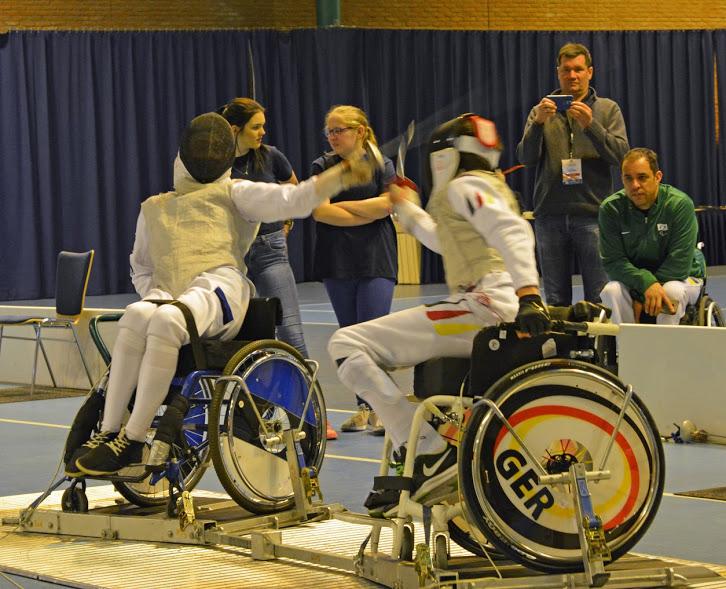 Noor ratastoolivehkleja võitis maailmakarika etapi pronksmedali