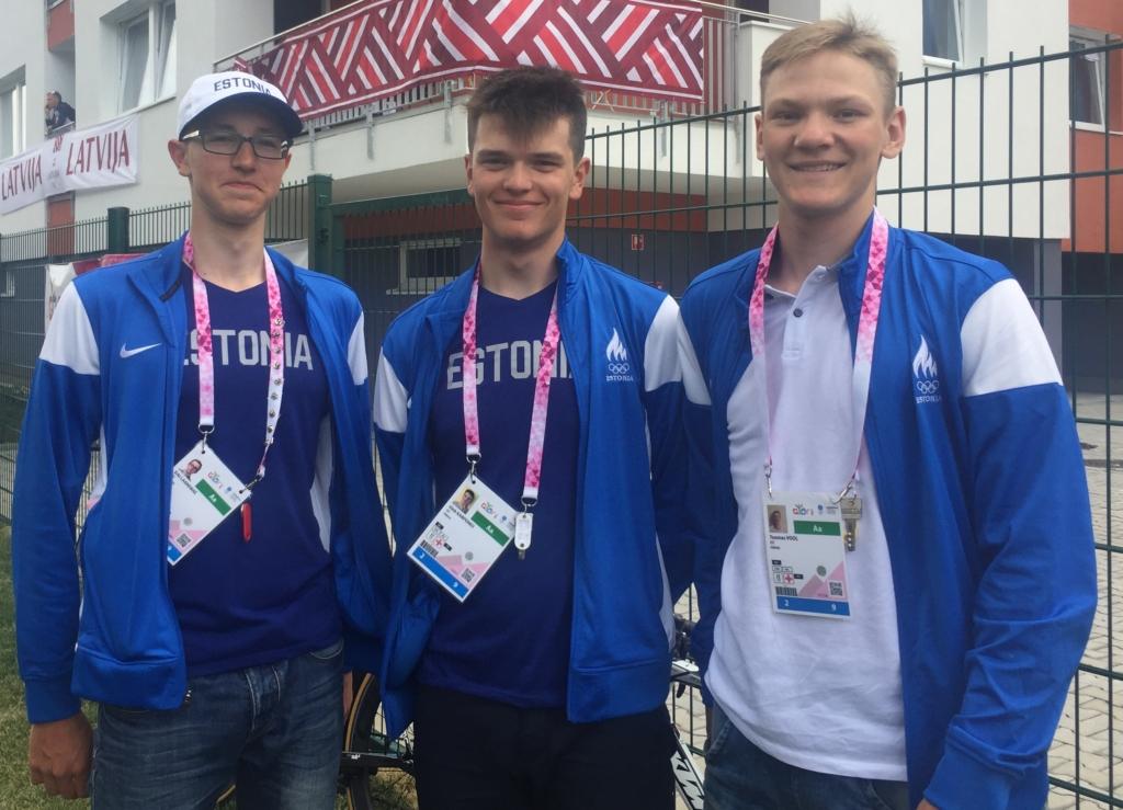 PALJU ÕNNE! Gleb Karpenko võitis Euroopa noorte olümpiafestivali pronksmedali