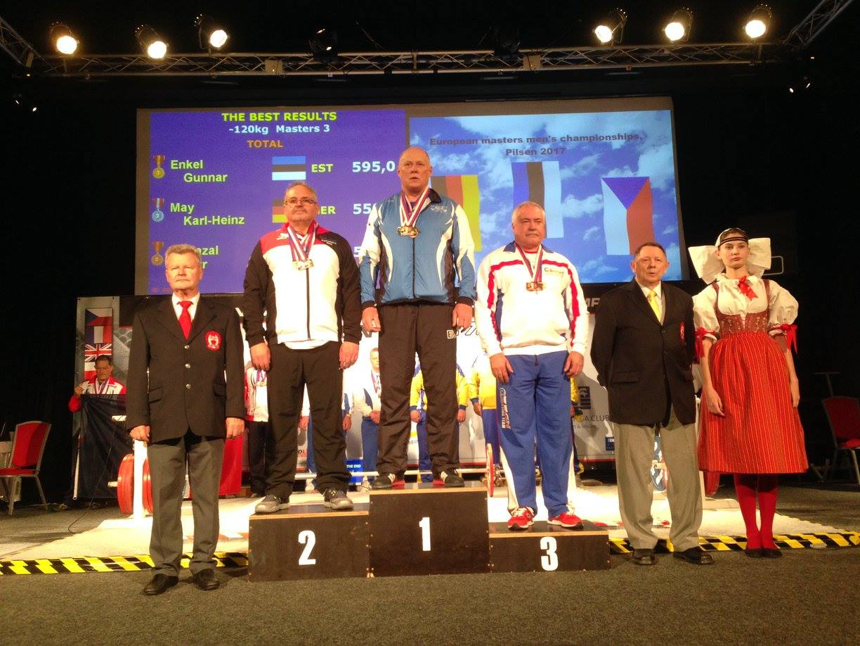 VÕIMAS! Euroopa meistriks saanud jõutõstja Gunnar Enkel sihib ka maailmameistri tiitlit