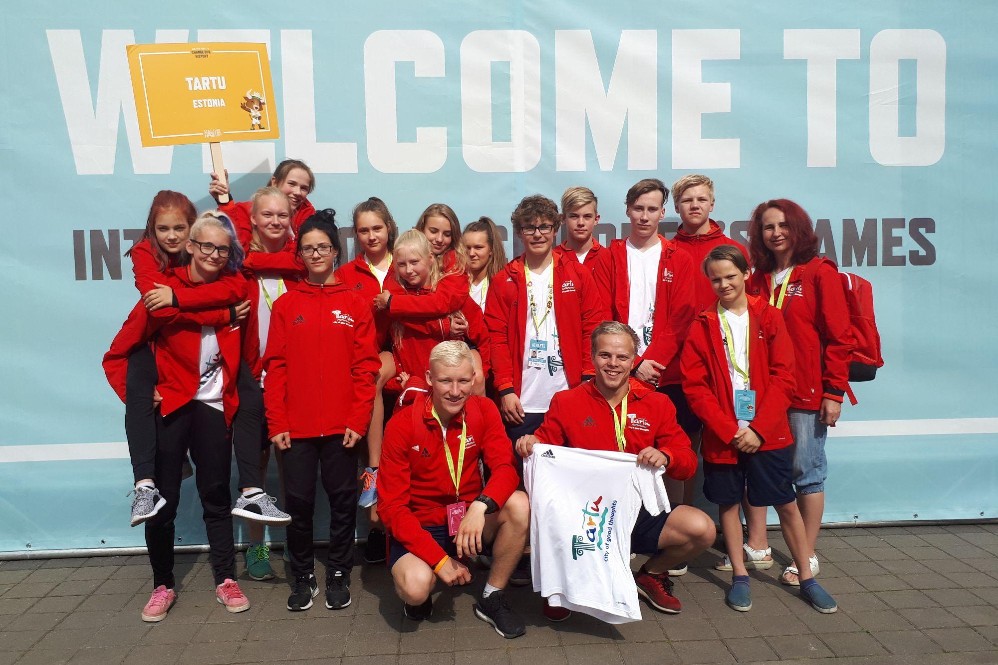 Tartu noored tõid rahvusvahelistelt noorte mängudelt 3 medalit
