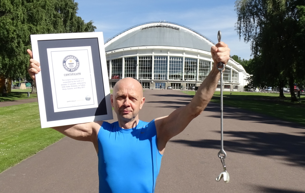 VIDEO! Aplaus! Guinness World Records kinnitas Vello Vaheri rekordi