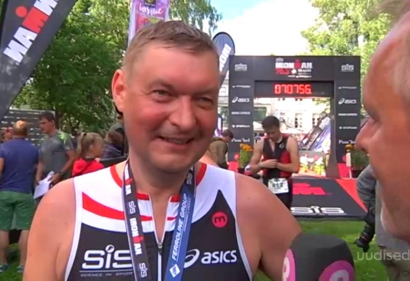 Video! Raivo E. Tamm läbis edukalt ränkraske Ironmani katsumuse