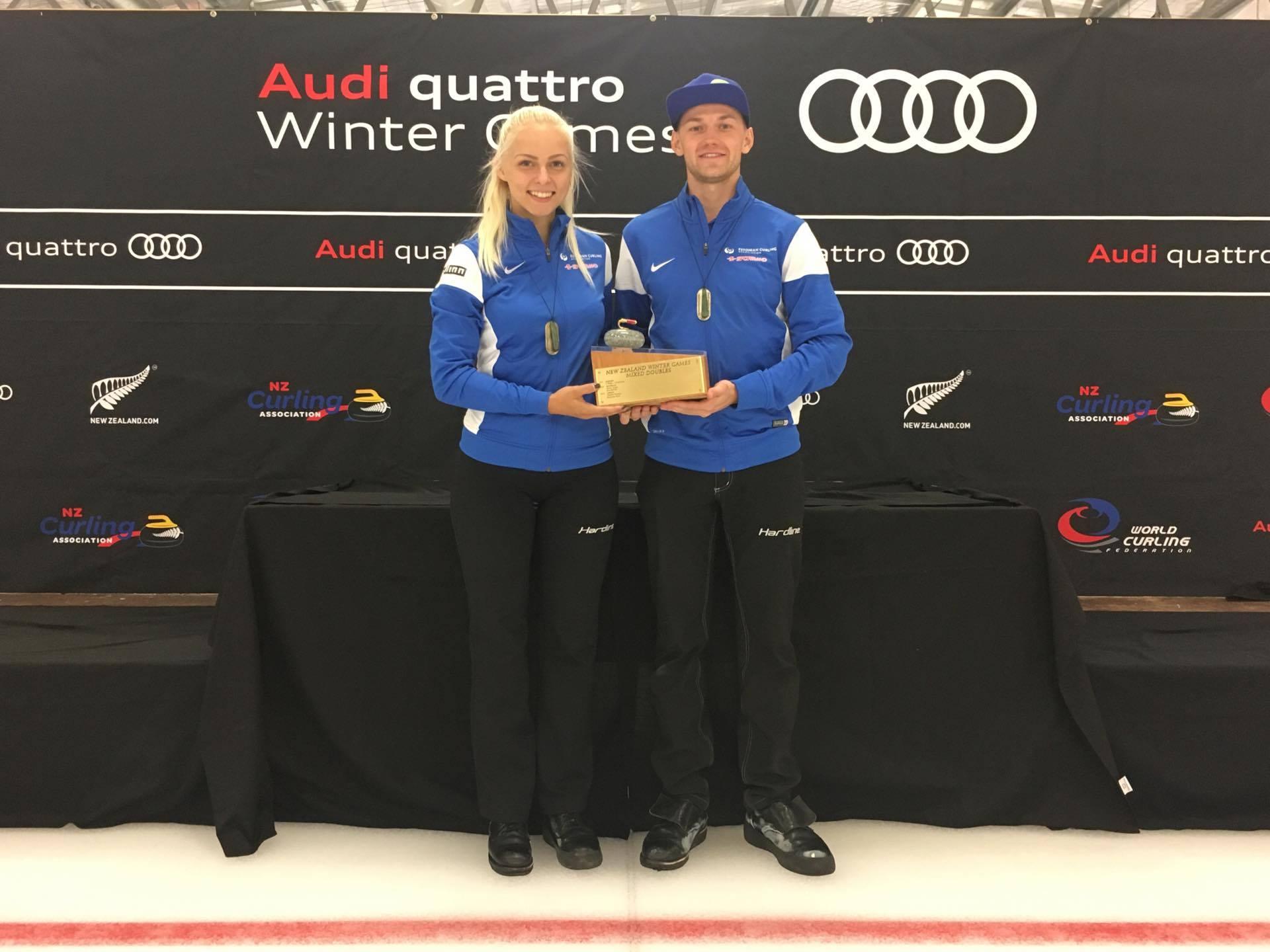 Eesti curlinguvõistkond võitis talimängud Uus-Meremaal