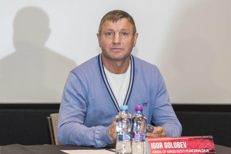 King of Kingsi korraldaja Igor Golubev: hea tulemus oleneb poksijate soovist võita