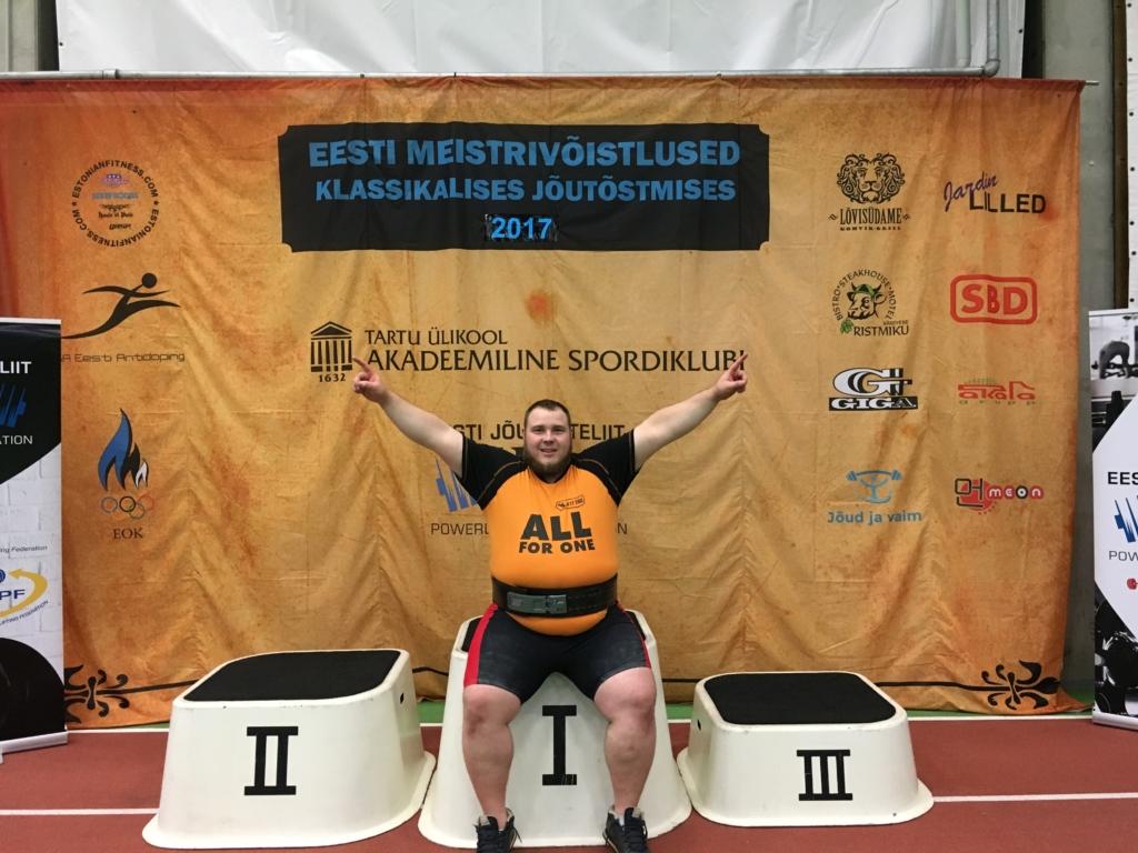 Eesti meistrivõistlustel krooniti meeste absoluudi võitjaks Siim Rast, mees ise soovis enamat!