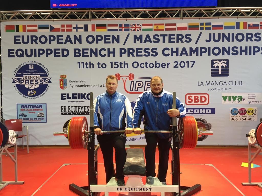 Eesti jõutõstjad tõid Hispaaniast pronksi ning 4. ja 5. koha