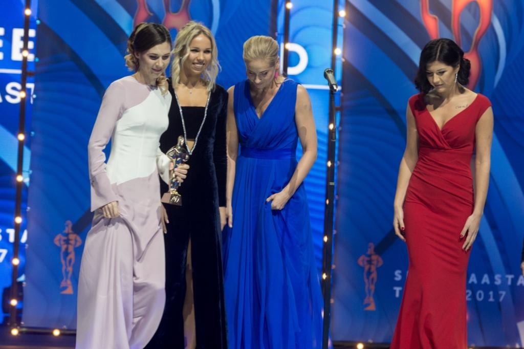 Aasta võistkond 2017 on epeevehklemise naiskond! Kristina Kuusk naiskonna nimel: on suur au siin seista
