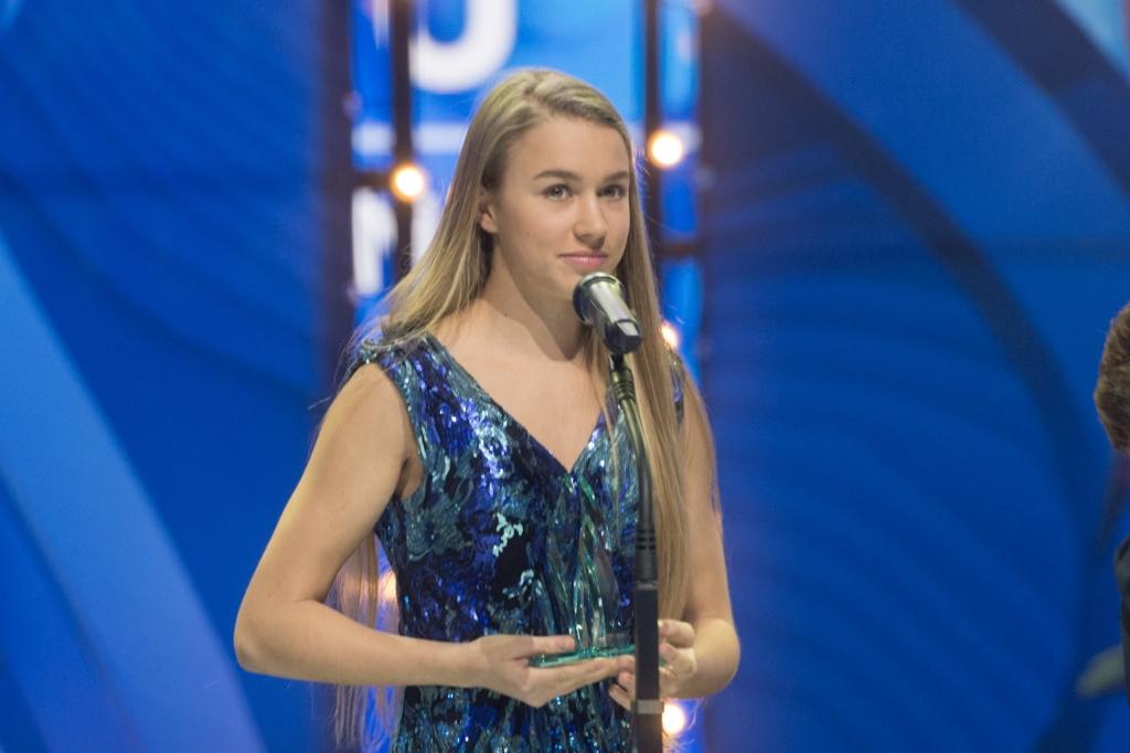 Aasta noorsportlane 2017 Kelly Sildaru: mind on aidanud minu kallis perekond!