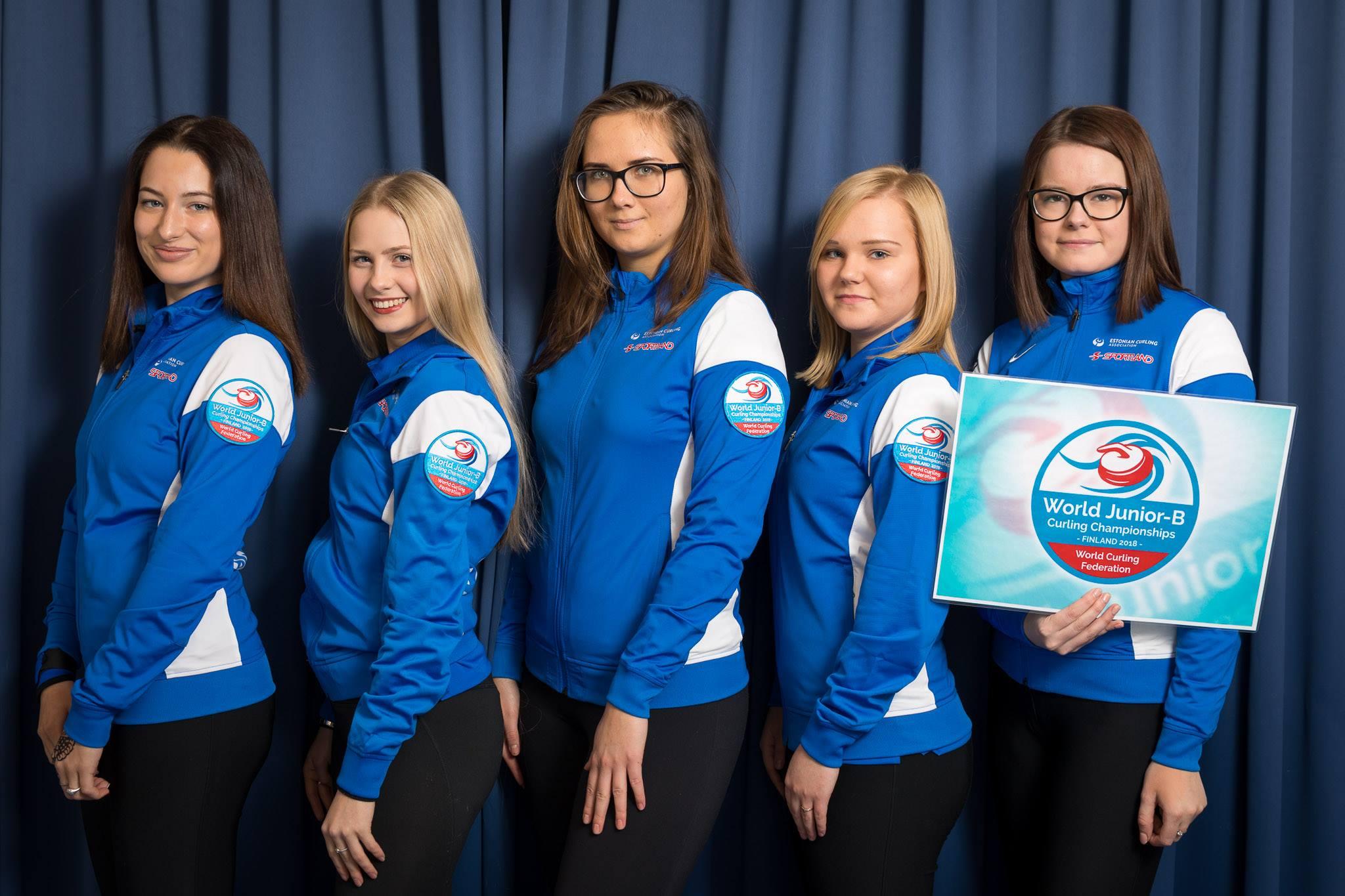 Eesti curlingu naisjuuniorid jätkavad MMi kvalifikatsioonis võidukalt