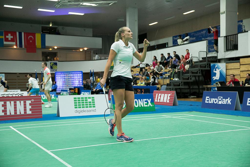 Kristin Kuuba võitis Tallinnas Euroopa karikaetapil 3. koha