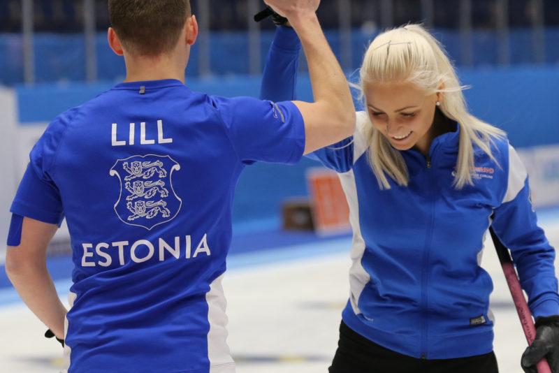 Eesti curlingupaar näitas maailmakarika etapil taas kõrget taset
