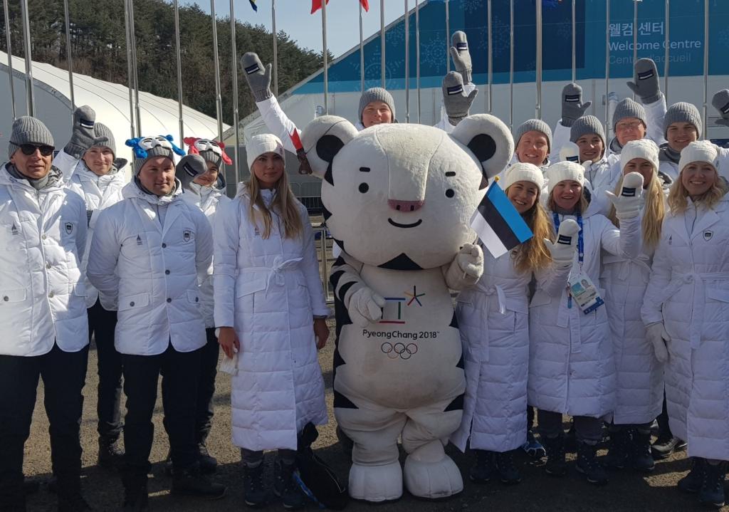 Eesti delegatsioon võeti ametlikult olümpiaküla liikmeks