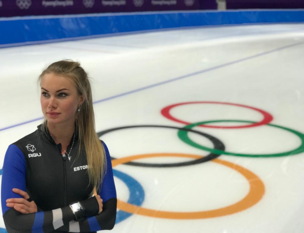 Olümpiamängude avatseremoonial kannab Eesti lippu kiiruisutaja Saskia Alusalu