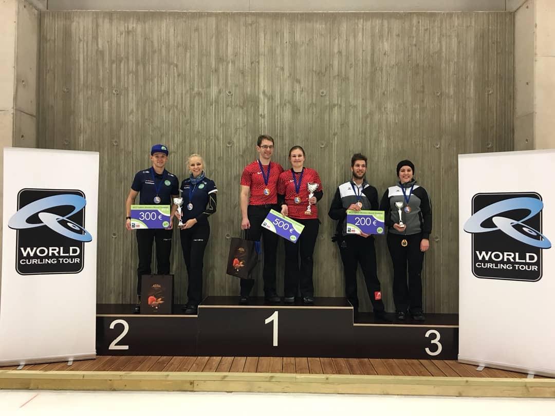 Eesti curlingupaar võitis Tallinnas toimunud maailmakarika etapil teise koha