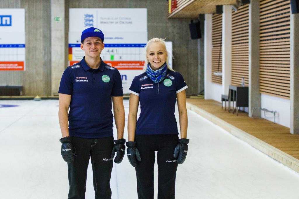 Eesti meistrid segapaari curlingus on Marie Turmann ja Harri Lill