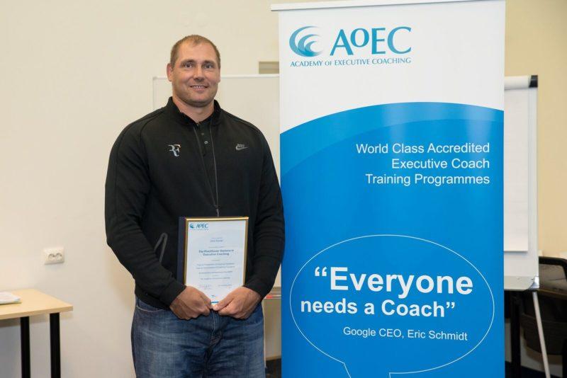 Gerd Kanterist sai juhtimistreeneri diplomi