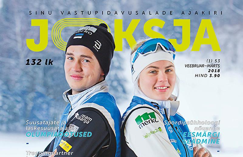Ajakiri Jooksja jõuab toetajate abiga Eestimaa sportlikumatesse koolidesse