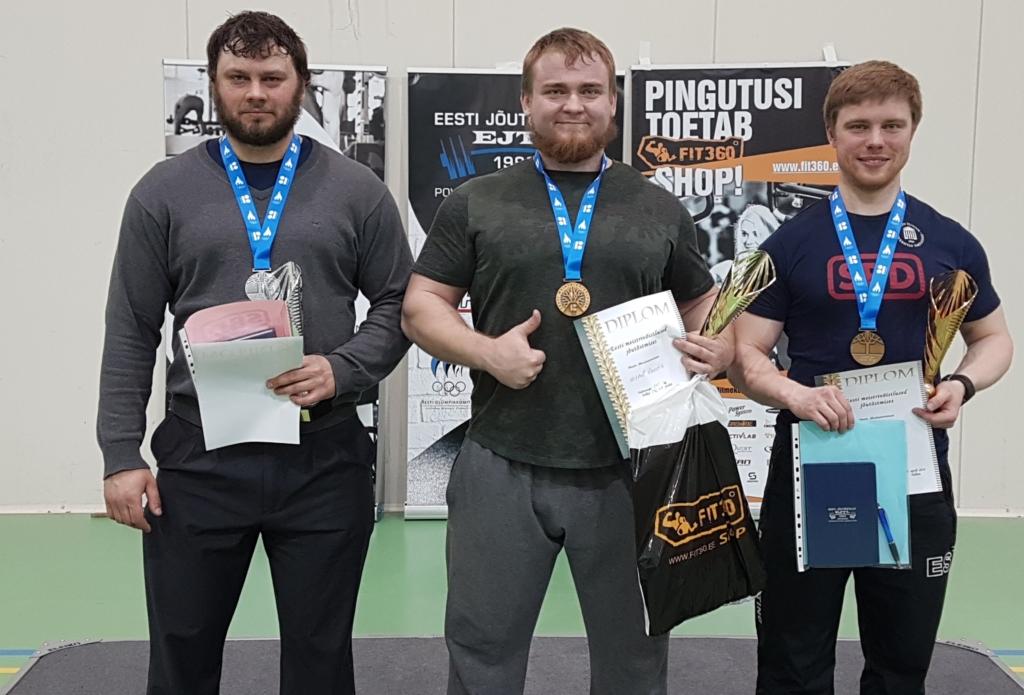 Palju õnne! Eesti meistrivõistlused jõutõstmises võitis Mihkel Raadik