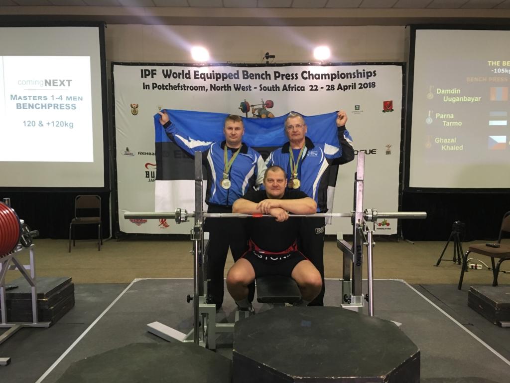 Eesti jõutõstjad on LAV-is toimuval MM-il teeninud 4 medalit