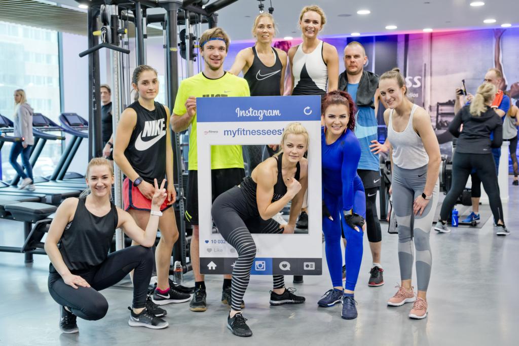 GALERII! Tallinna südalinnas avati moodsaim MyFitness klubi