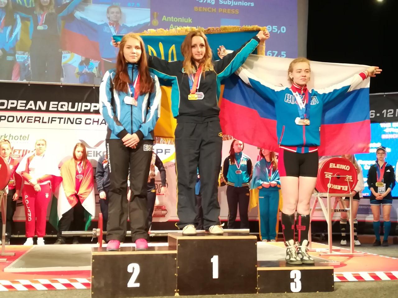 Eesti noored jõutõstjad võitsid EM-il kaks pronksi
