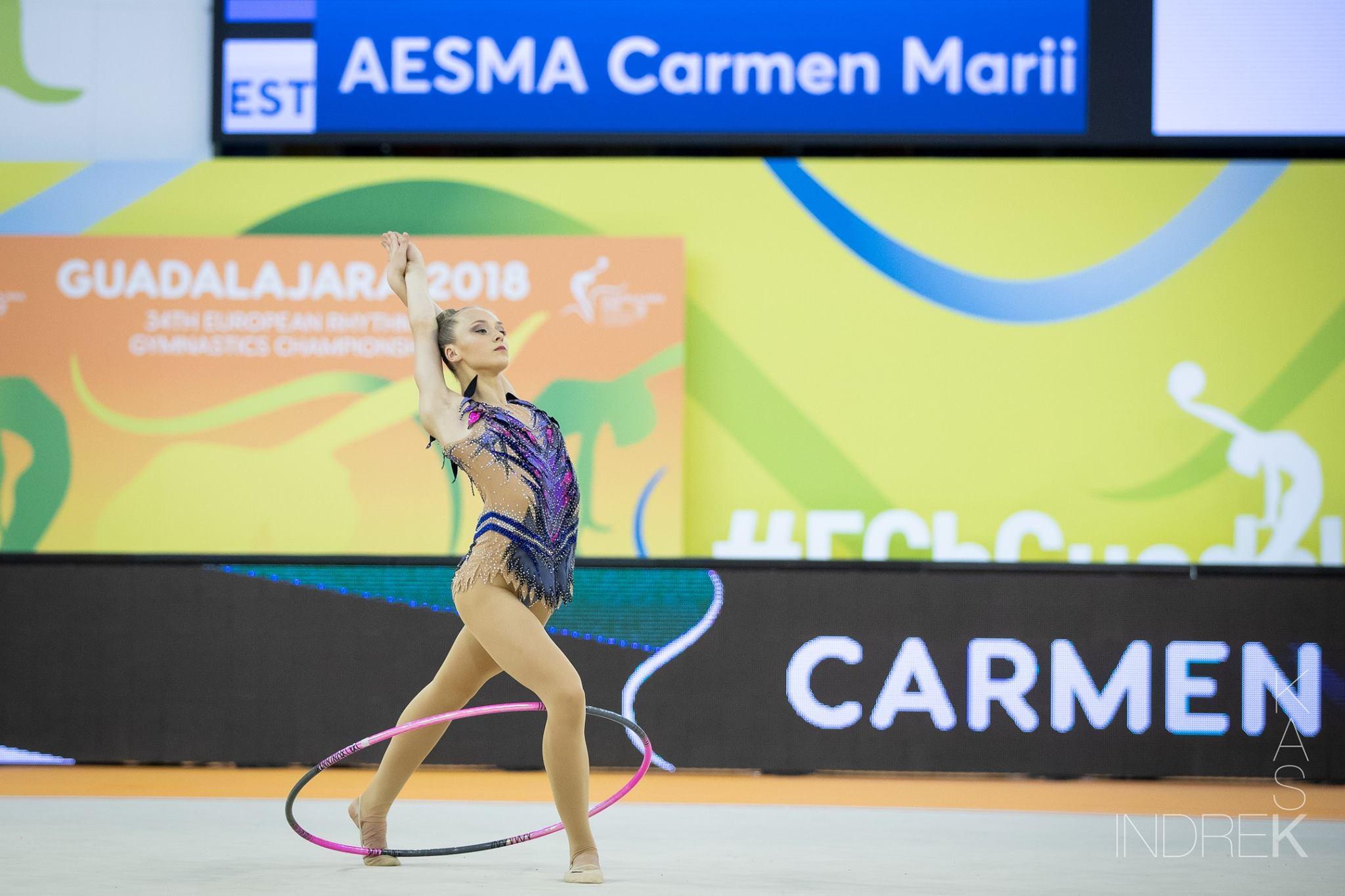 Pühapäeval lõppenud iluvõimlemise Euroopa meistrivõistlused olid Eesti koondisele edukad