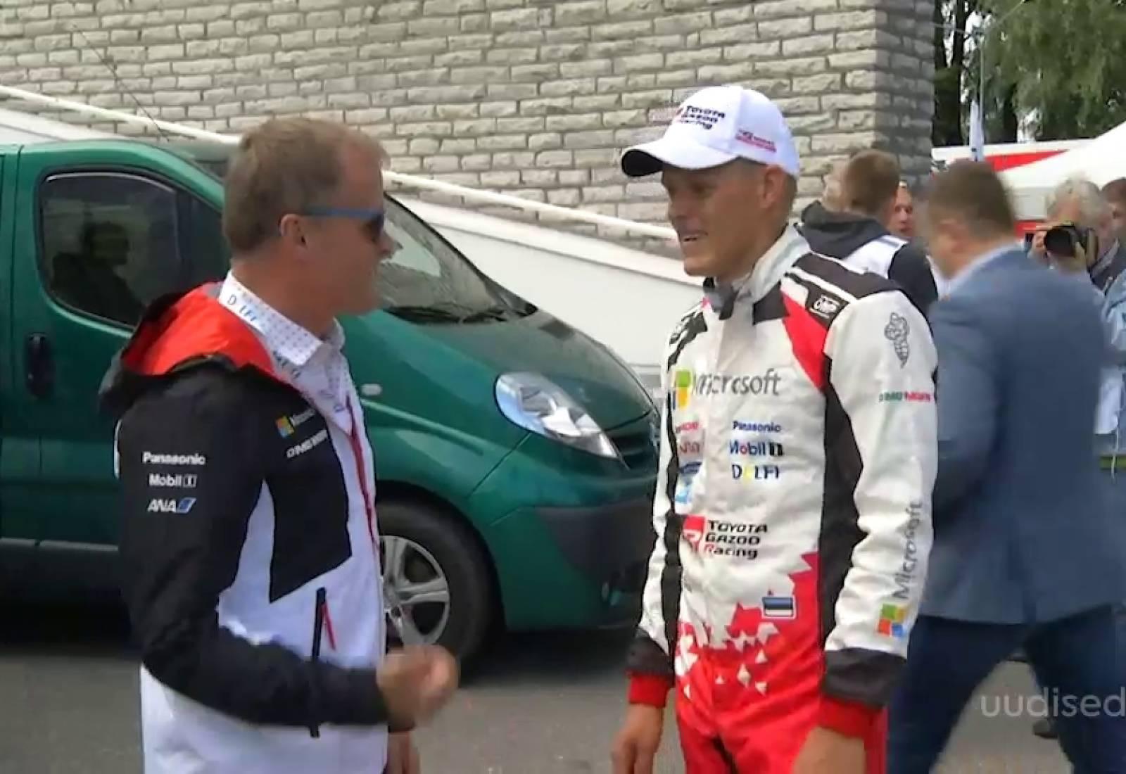 VIDEO! Ott Tänaku meeskonna Toyota juht Tommi Mäkinen: loodan, et ühel päeval näeme eestlasest maailmameistrit