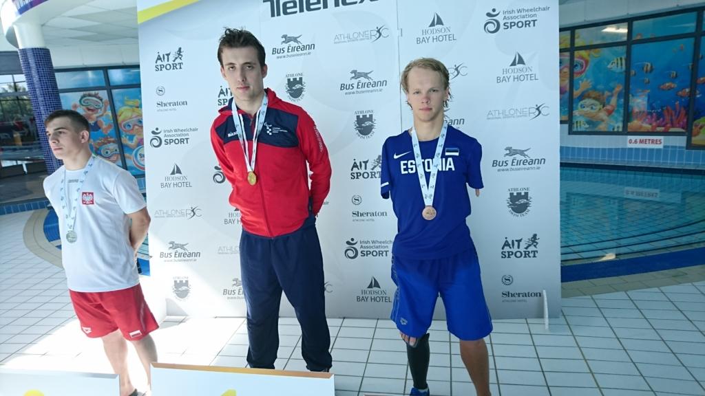 Eesti ujujad olid IWAS U23 maailmamängudel edukad