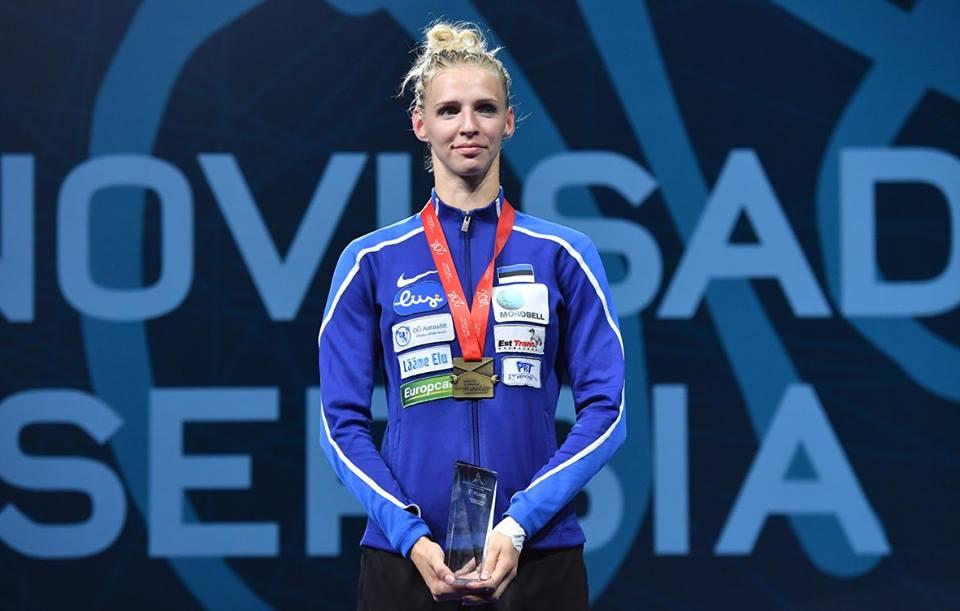 EOK premeerib Euroopa meistriks tulnud Katrina Lehist ja tema treenerit