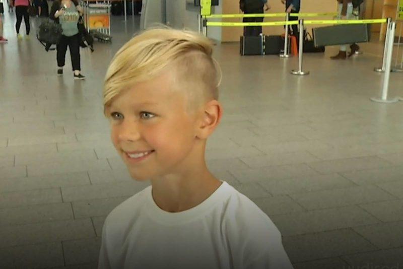 VIDEO! Väike Tartu vutifänn jalutab jalgpalli MM-i finaalis väljakule ühes staarjalgpalluritega