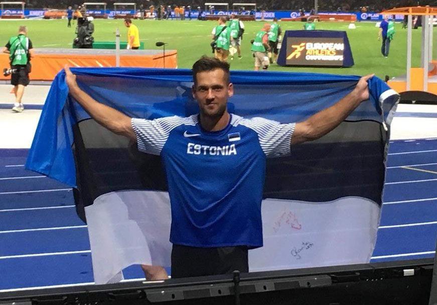 VIDEO MEDALIPEOST! Magnus Kirt võitis Berliinis odaviskes pronksi